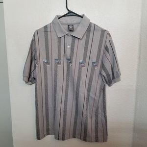 Vintage Polo T Shirt. AMAZING Pattern! Perfect!